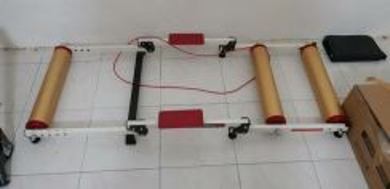 Dragonback roller trainer