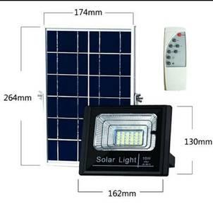 10W LED Solar Floodlight Spotlight Lampu Solar