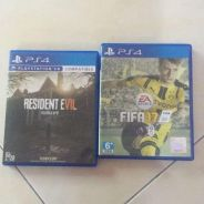 CD PS4 RE7 & Fifa 17