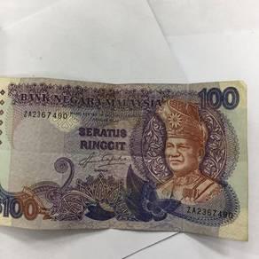 Wang rm100 lama utk dijual