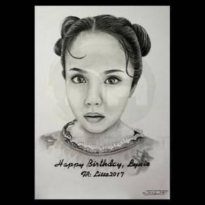 Promosi Lukisan Potret