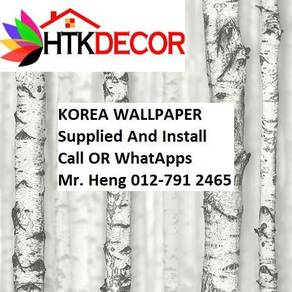 Pretty Wallcovering with Installation 6g5f879