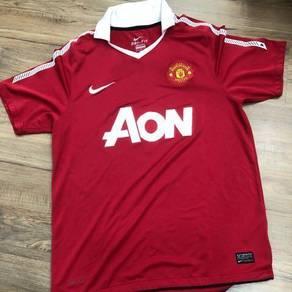Jersi Man Utd Jersey AON EPL 11/12 size M