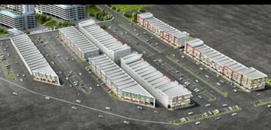 NEW Double storey shop lot - ONE CITY ( 1city ) - Juru
