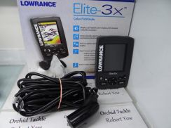 Lowrance Elite - 3X fish finder fishing pancing