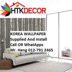 Pretty Wallcovering with Installation fgh489789