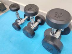 Round Fixed Dumbbell