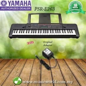 Yamaha psr-e263 61 keys portable keyboard