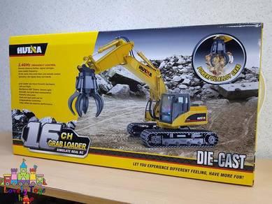 RC HuiNa 1571 Grab Loader , Excavator also have