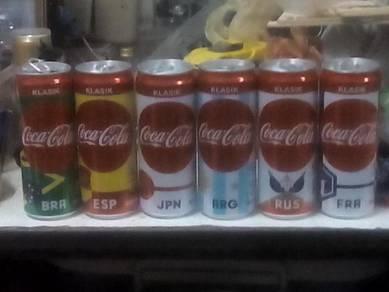 Coca Cola Full Can 6pcs set