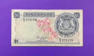 JanJun 1 Dollar Singapore 1st Orchid D/5 272179