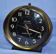 Antique westclox scotland mechanical alarm clock