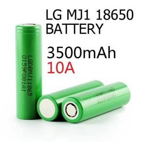 LG DBMJ1 18650 3.7V 3500mAh battery 10A high drain