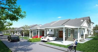 Semi-D 1 Tingkat di Bandar Kg.Raja Besut Terengganu