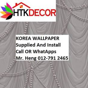 Pretty Wallcovering with Installation f5489798