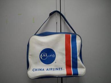 Vintage china airlines sling bag