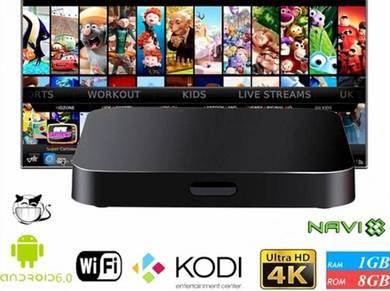 QLED TX Prohd Tv box Free Android 7.1 iptv