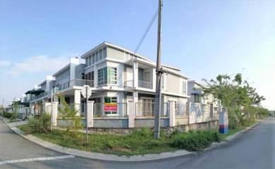 CORNER LOT Double Storey Terrace Nusari Aman 2 , Sendayan N9
