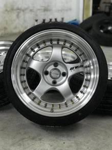Work miestar s1 17 inch sports rim alza new tyre