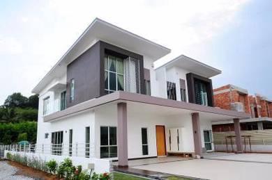Brand New 2 Sty Semi-D Taman Lukut Lagenda, Port Dickson mambau
