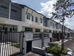 Double storey terrace house for sale
