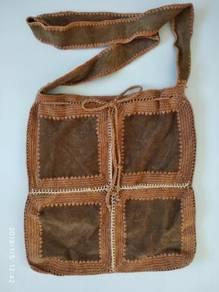 British India - leather sling Bag