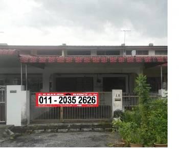 Single Storey Terrace House FOR SALE in Menglembu