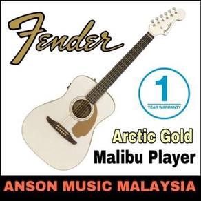 Fender California Series Malibu Player,Arctic Gold
