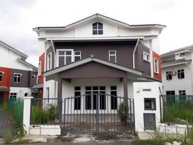 Rumah berkembar dua tingkat