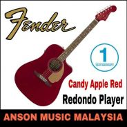 Fender California Redondo Player,Candy Apple Red