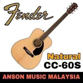 Fender CC-60S Concert Acoustic Guitar, Natural