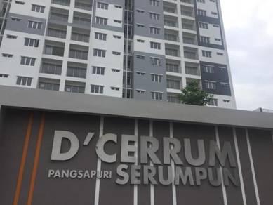 Pangsapuri Serumpum D Cerrum Setia Ecohill Semenyih pool gym NEW 3R2B