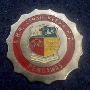 Lencana besi S. M. R. Tanah Merah P. D