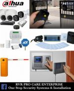 Cctv promo package, barriers, thumbprint