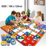 Flying Airplane Carpet Family Chess Game Play Mat