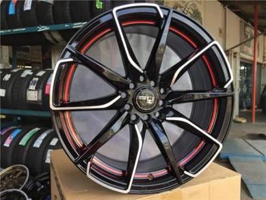 Sport Rim Rays Club Design 17Inch Honda Altis Wish