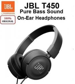 [100% ORIGINAL] JBL T450 On-ear headphones Pure Ba