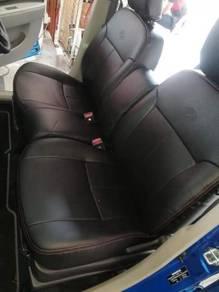 Perodua Alza Semi leather seat