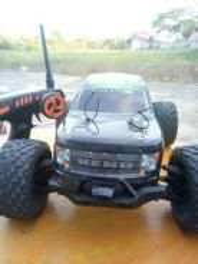 RC truck kereta kontrol Xeno monster xtra