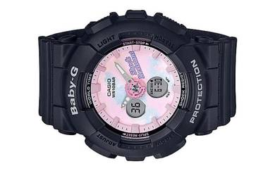 Casio BABY-G Lady Ana-Digit Sport Watch BA-120T-1A