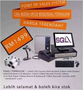 SQL Point of Sales Basic Device (Retail Shop)