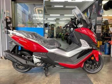 Sym cruisym 250 scooter deposit rendah