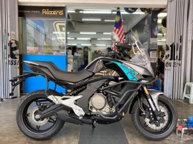 Cf moto 650 mt / zero deposit/touring bike murah