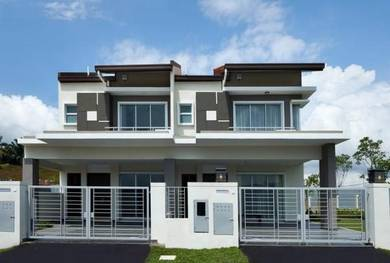 Monthly only 1200, double storey freehold, 20x60 port dickson area