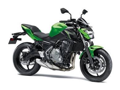 Kawasaki z650 abs dep promo