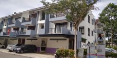 Townhouses Pangsapuri Ria D' Utama Perling Bukit Indah Johor Bahru
