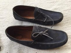Authentic tod shoes made in Italy with dust bag