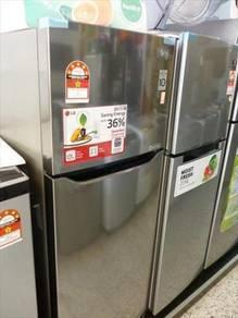 New LG 205L inverter Refrigerator GNB202SQB