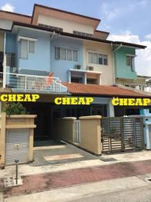 Kepong JALAN IPOH VILLAS MAS 2sty terrace 3R2B near selayang NSK AEON