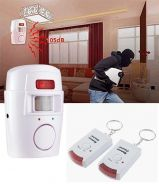 Door Infrared Motion Sensor Security With 2 Remote